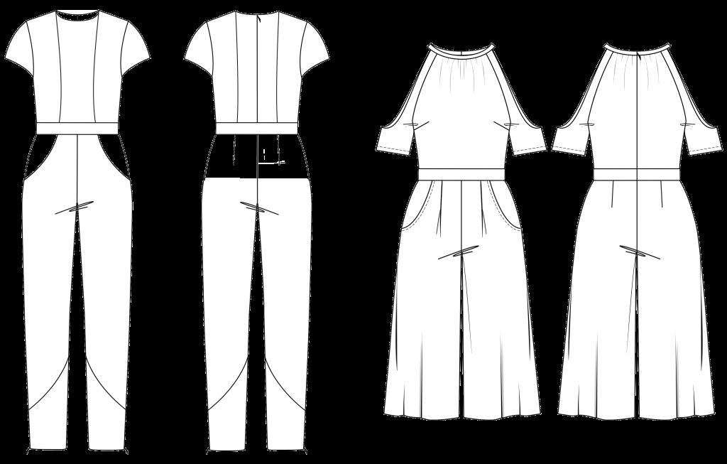 Jumpsuit, Overall, Einteiler, Onepiece, Playsuit, Schnittmuster ...