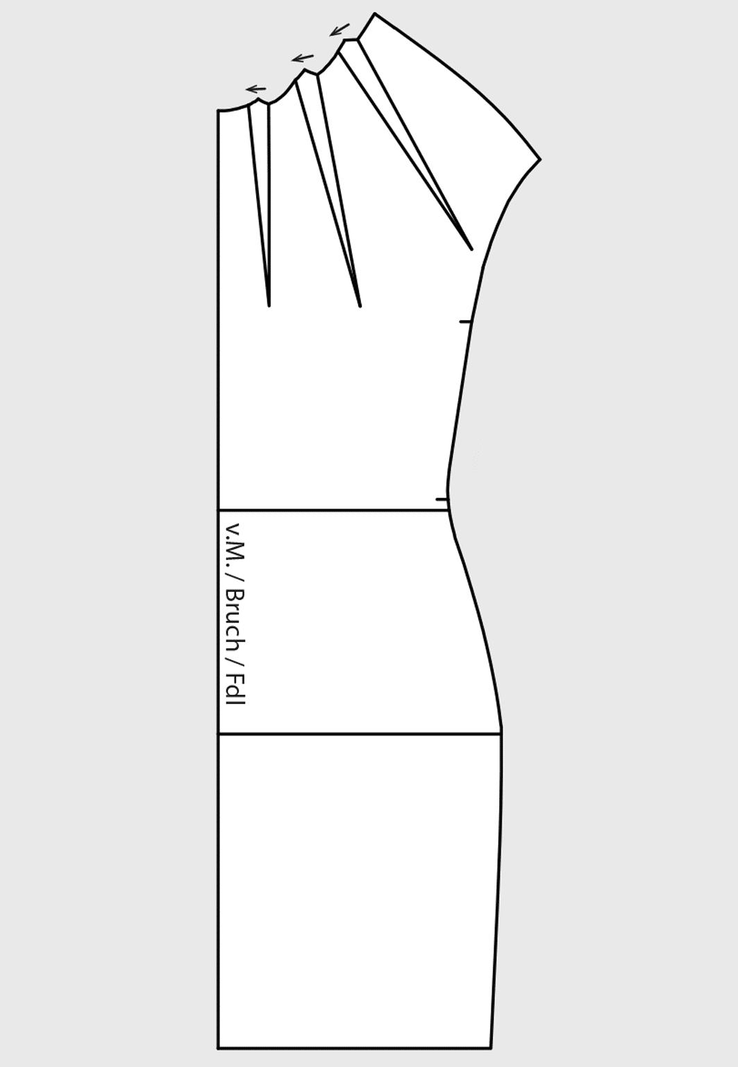 Dart and Seam Variations for Dresses › M Mueller & Sohn