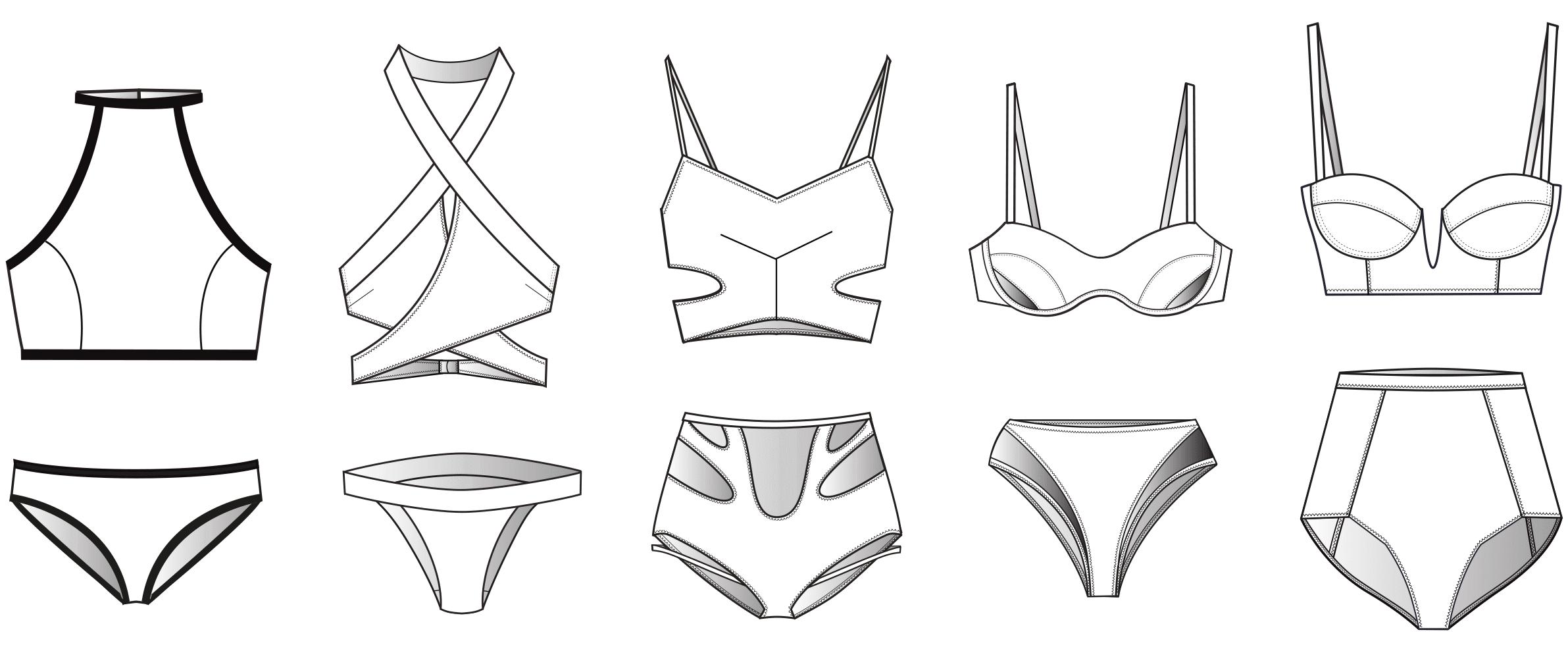 How To Draw A Bikini