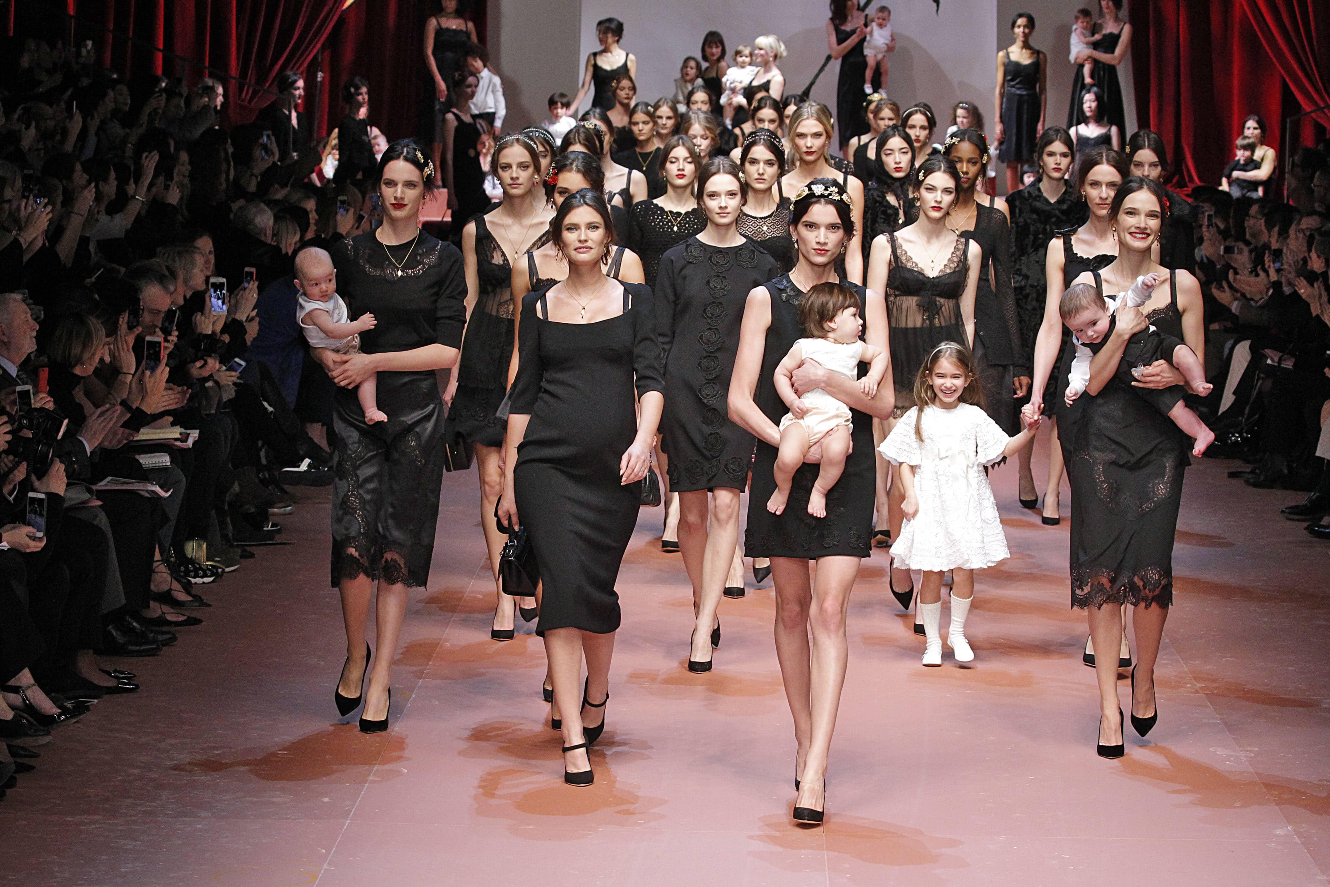Baby-fashion on Runway