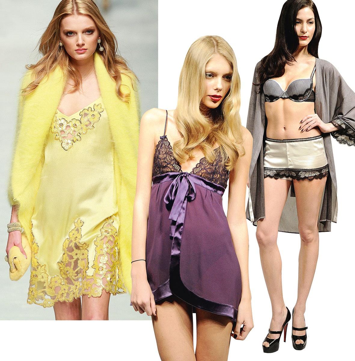 Zeigt eine Collage von Camisule und Shorts.