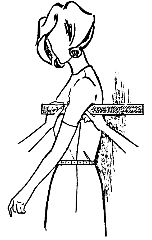 Eine DOB Zeichnung zeigt das Maßnehmen der Hilfsmaße.