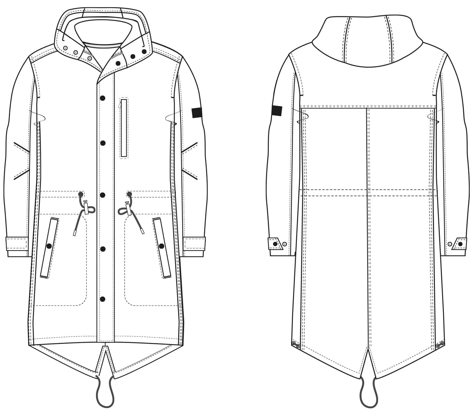 low priced 5a2d2 597fa Designer Parka with Hood › M.Mueller & Sohn