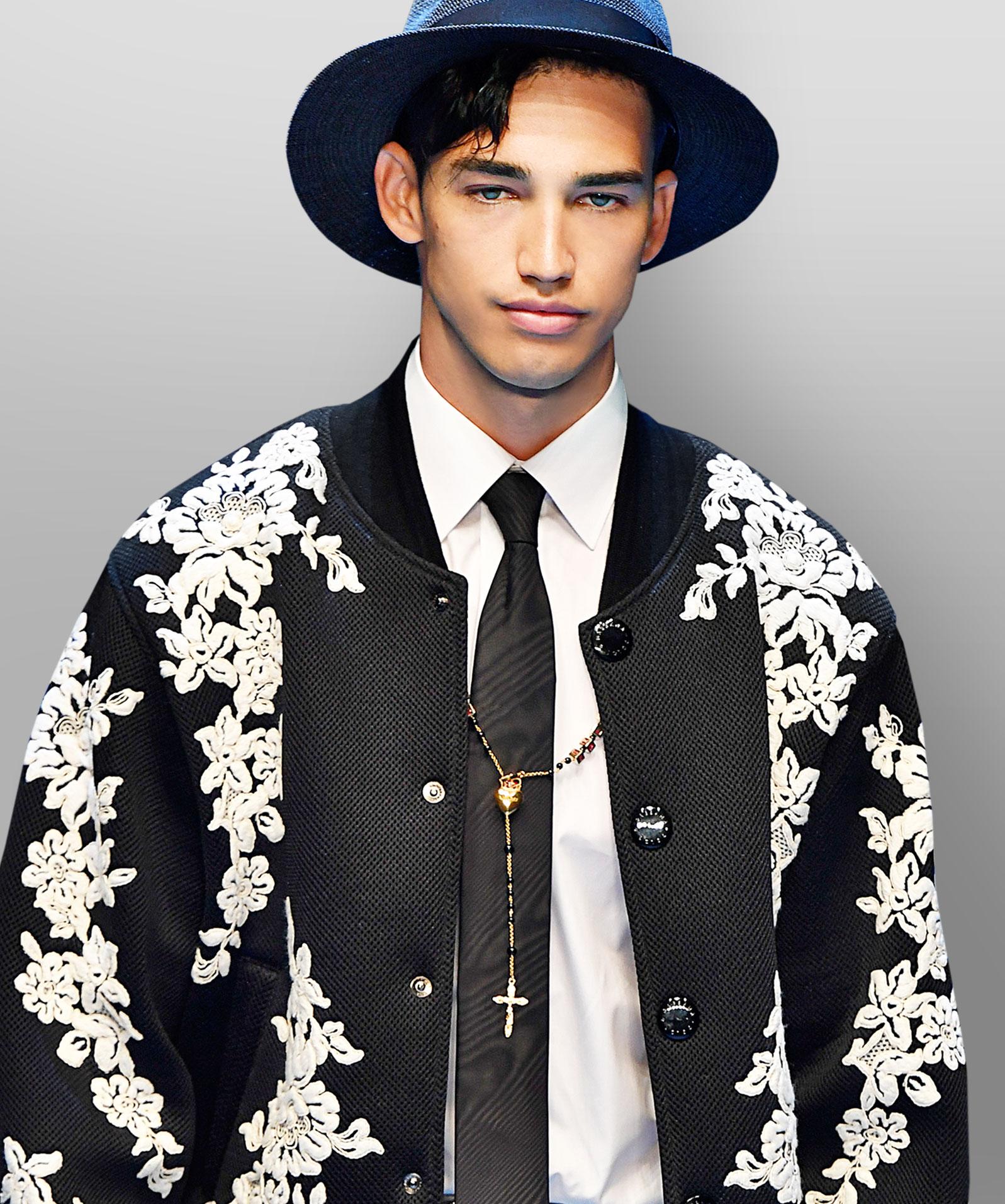 Schmale Krawatte von Dolce & Gabbana
