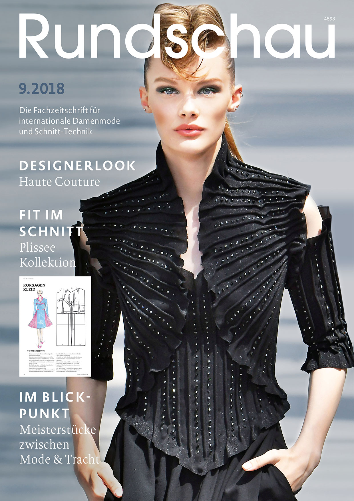 Produkt: Rundschau für Internationale Damenmode 9.2018