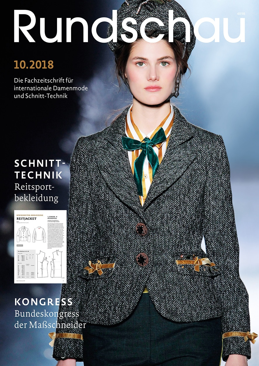 Produkt: Rundschau für Internationale Damenmode 10.2018