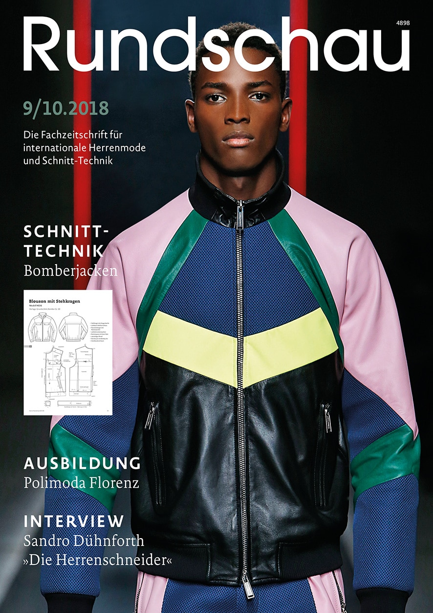 Produkt: Rundschau für Internationale Herrenmode 9-10.2018