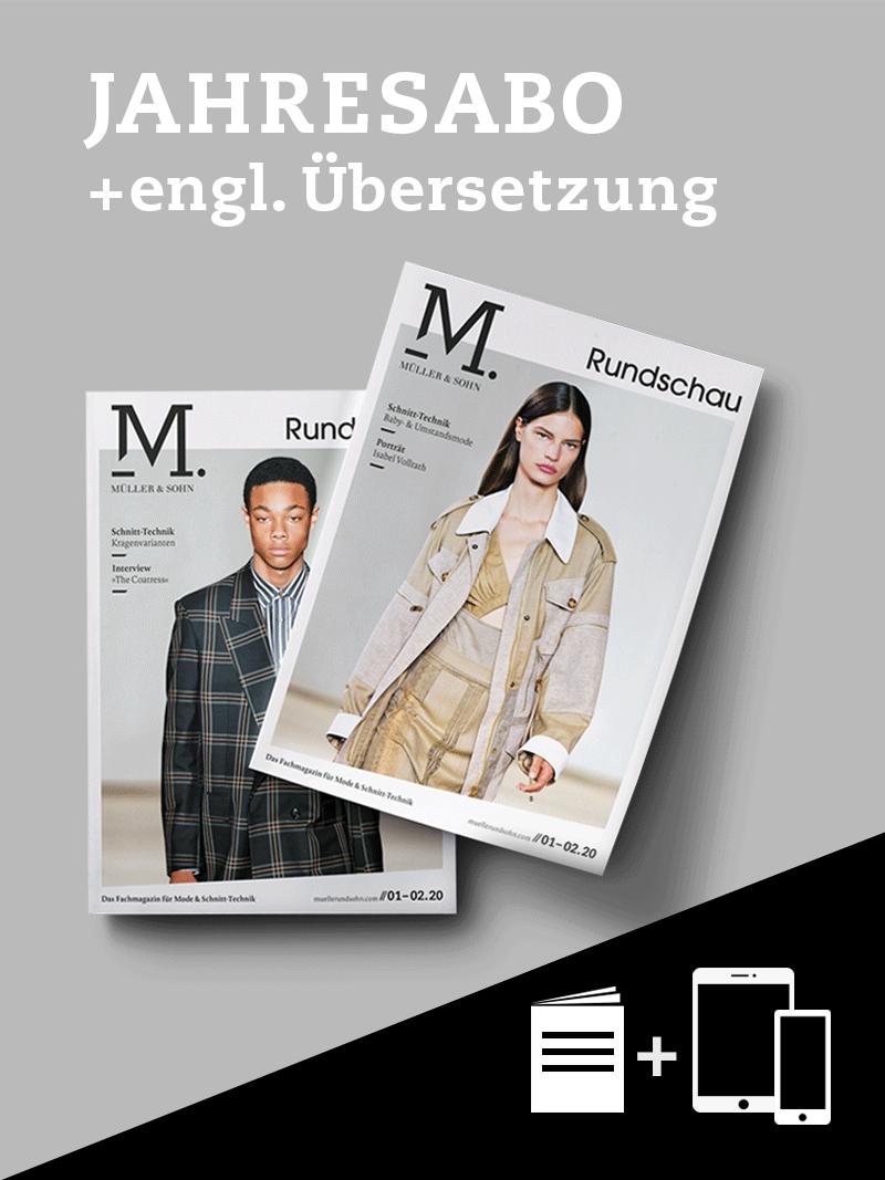 Produkt: M. Müller & Sohn Jahresabonnement + englische Übersetzung