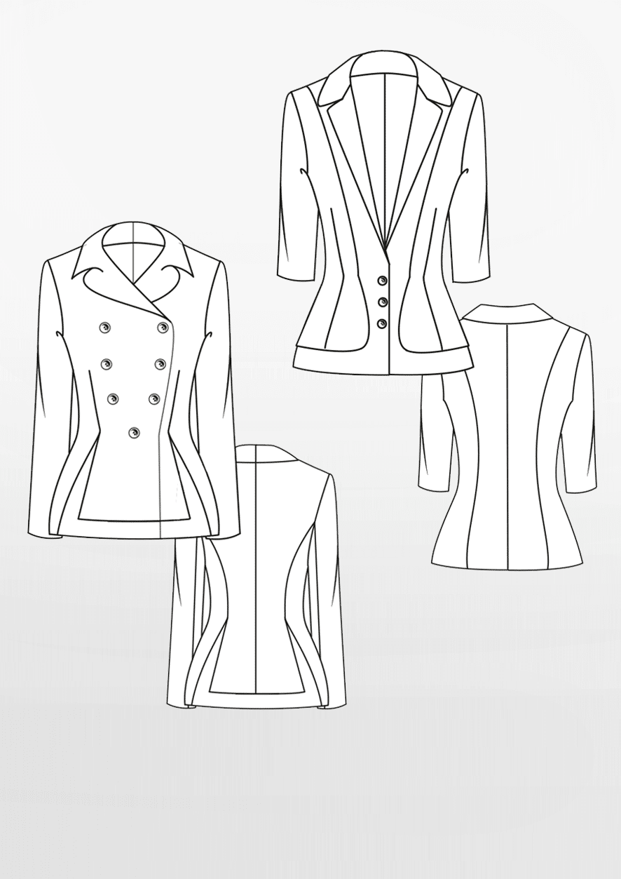 Produkt: Schnittmuster Taillierte Blazer