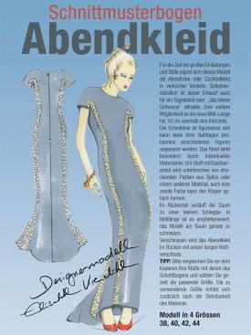 Produkt: Schnittmusterbogen Abendkleid