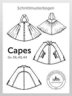 Produkt: Schnittmusterbogen Capes