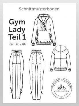 Produkt: Schnittmusterbogen Gym Lady Teil 1