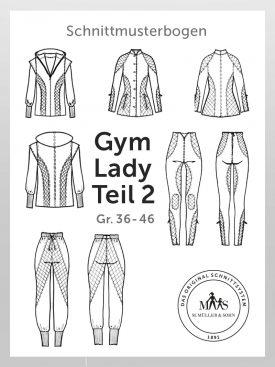 Produkt: Schnittmusterbogen Gym Lady Athleisure Wear Teil 2