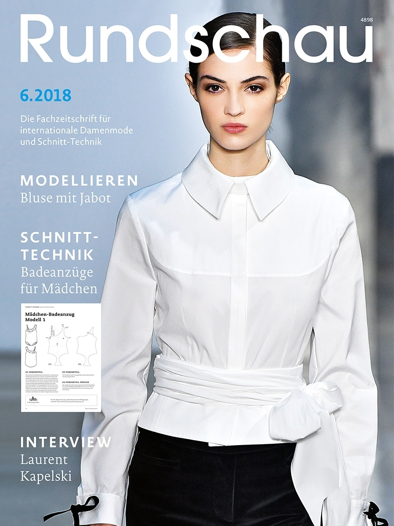 Produkt: Rundschau für Internationale Damenmode 6.2018
