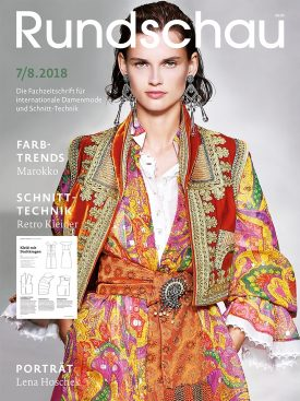 Produkt: PDF-Download: Rundschau für Internationale Damenmode 7-8/2018