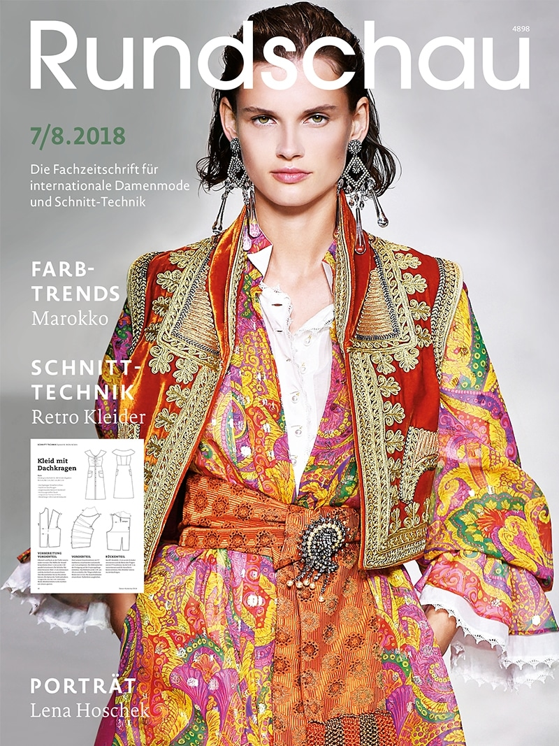 Produkt: Rundschau für Internationale Damenmode 7-8.2018