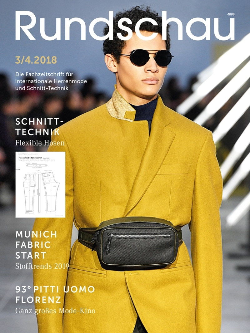 Produkt: Rundschau für Internationale Herrenmode 3-4.2018