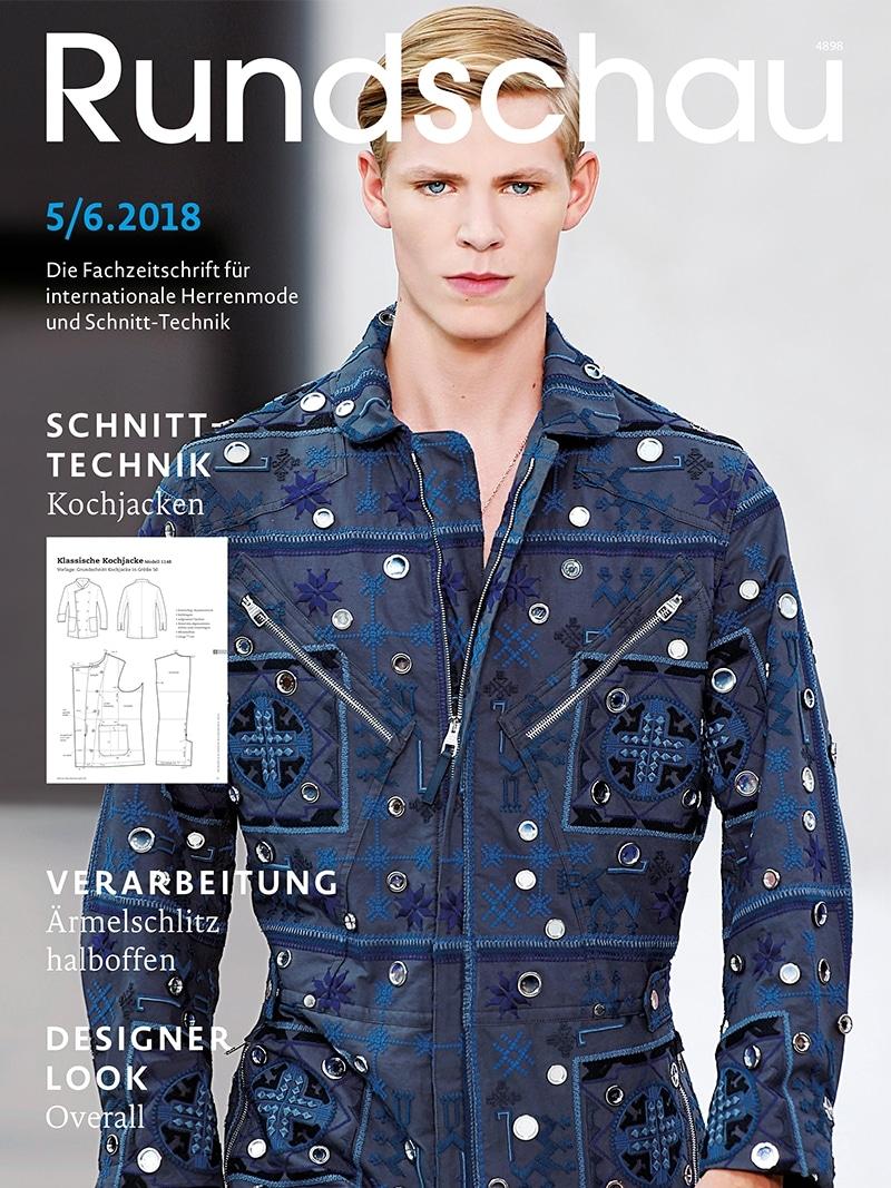 Produkt: Rundschau für Internationale Herrenmode 5-6/2018