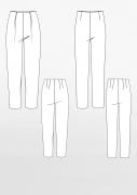 Produkt: Schnittmusterbogen Grundschnitt Standardhose und Bundfaltenhose