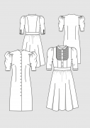 Produkt: Schnittmusterbogen Kleider