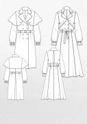 Produkt: Schnittmusterbogen Trenchcoats