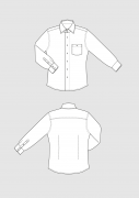 Produkt: Schnittmuster Slim Fit Hemd für Herren