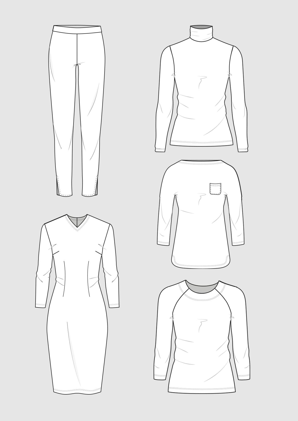 Produkt: Schnittmuster Jersey-Basics