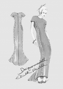 Produkt: Schnittmuster DOB Abendkleid
