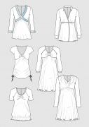 Produkt: Schnittmusterbogen Mode für Mama