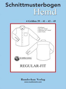 Produkt: Schnittmusterbogen Regular Fit Hemd Herren