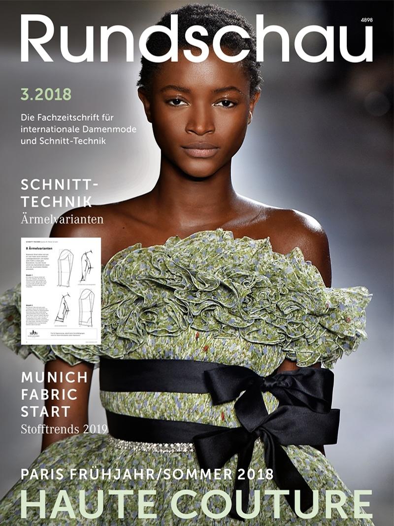 Produkt: Rundschau für Internationale Damenmode 3.2018 Digital