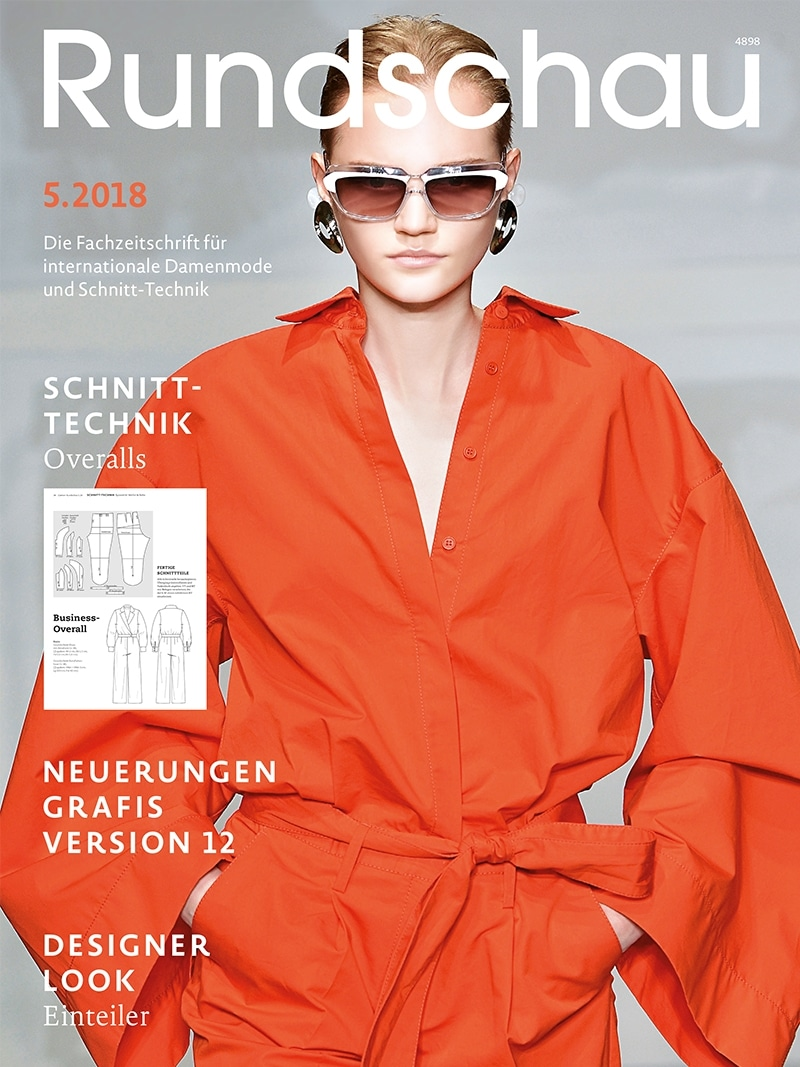 Produkt: Rundschau für Internationale Damenmode 5.2018