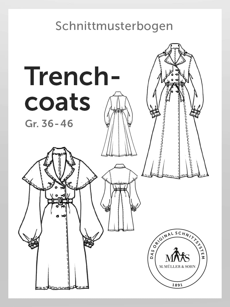 Produkt: Schnittmuster Trenchcoats