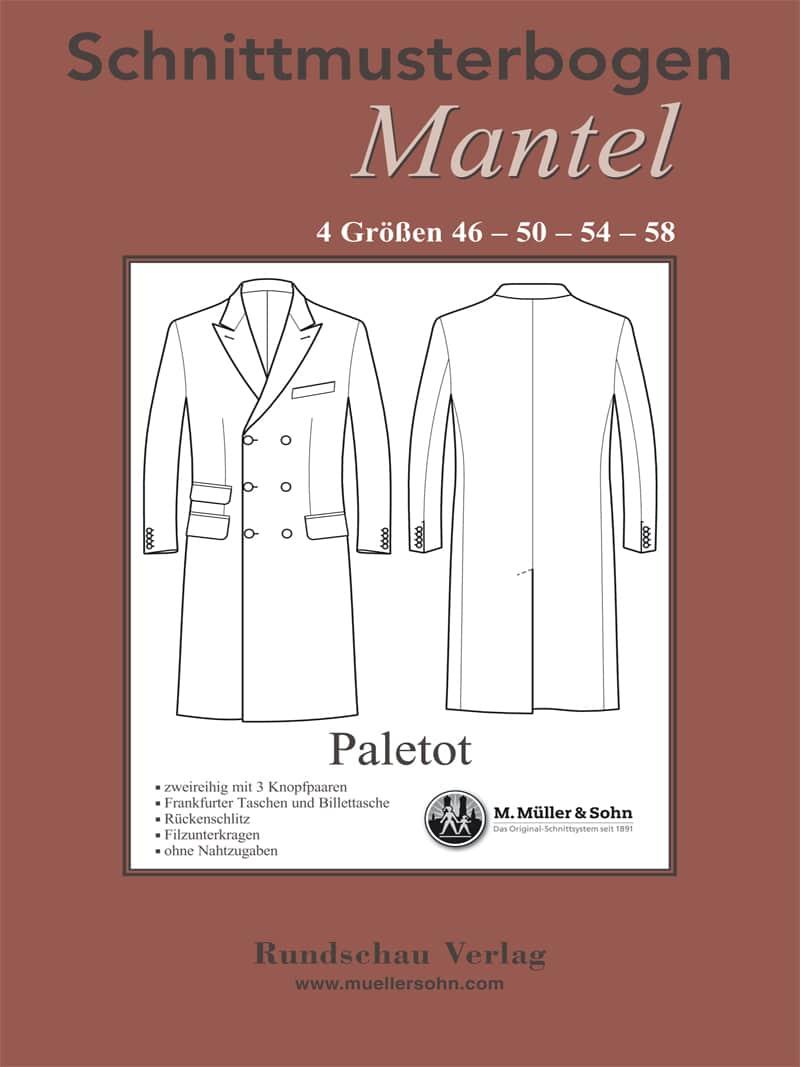 Produkt: Schnittmuster Paletot-Mantel
