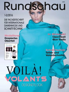Produkt: PDF-Download: Rundschau für Internationale Damenmode 1-2/2016