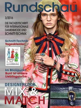 Produkt: PDF-Download: Rundschau für Internationale Damenmode 3/2016