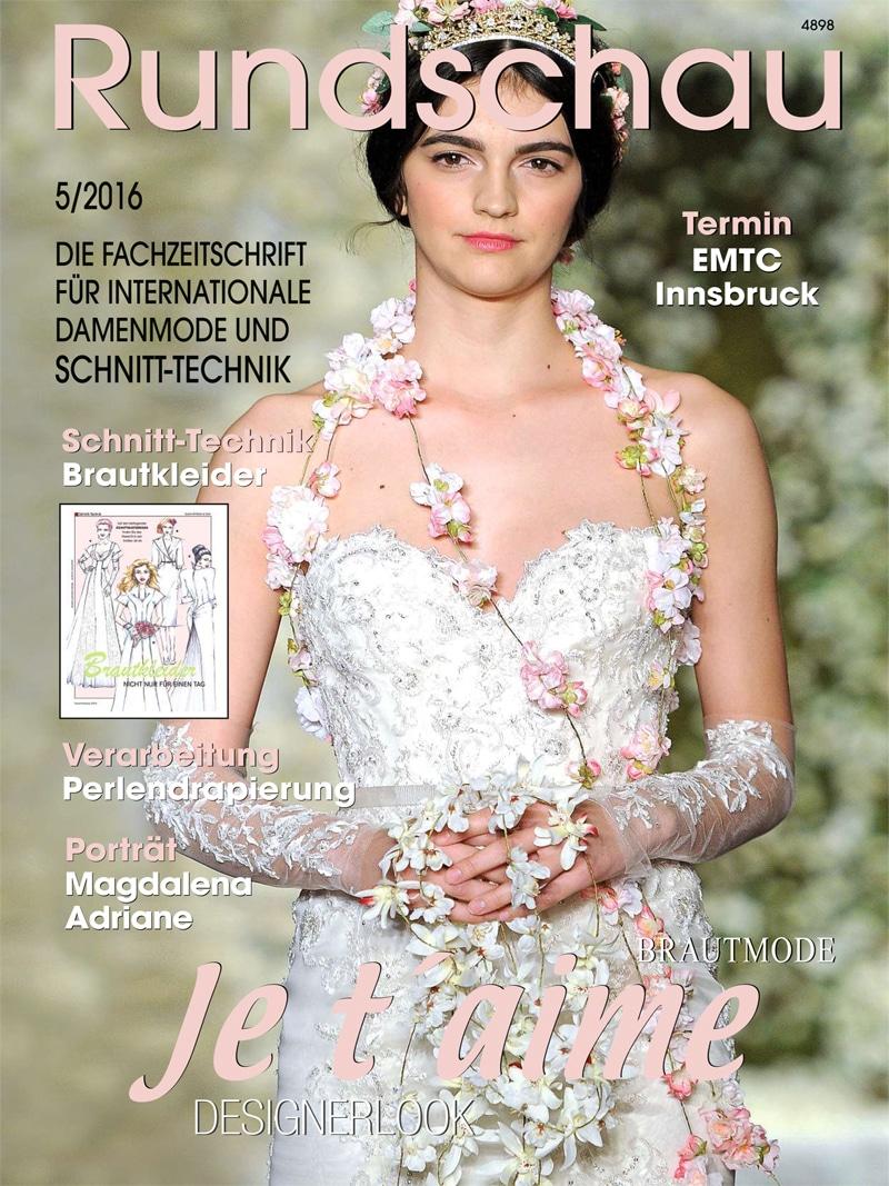 Produkt: Rundschau für Internationale Damenmode 5/2016 Digital