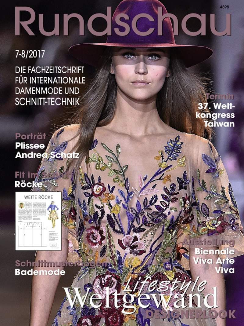 Produkt: Rundschau für Internationale Damenmode 7-8/2017 Digital