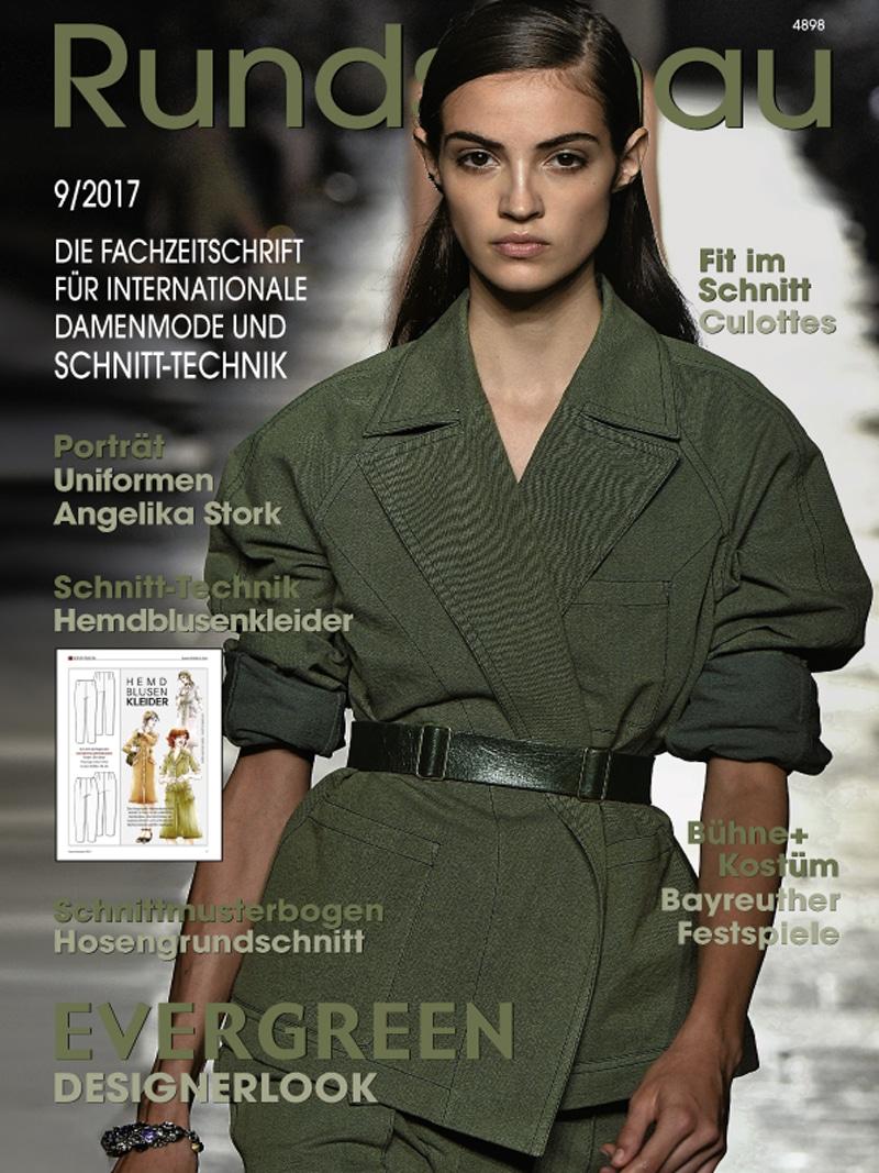 Produkt: Rundschau für Internationale Damenmode 9/2017 Digital