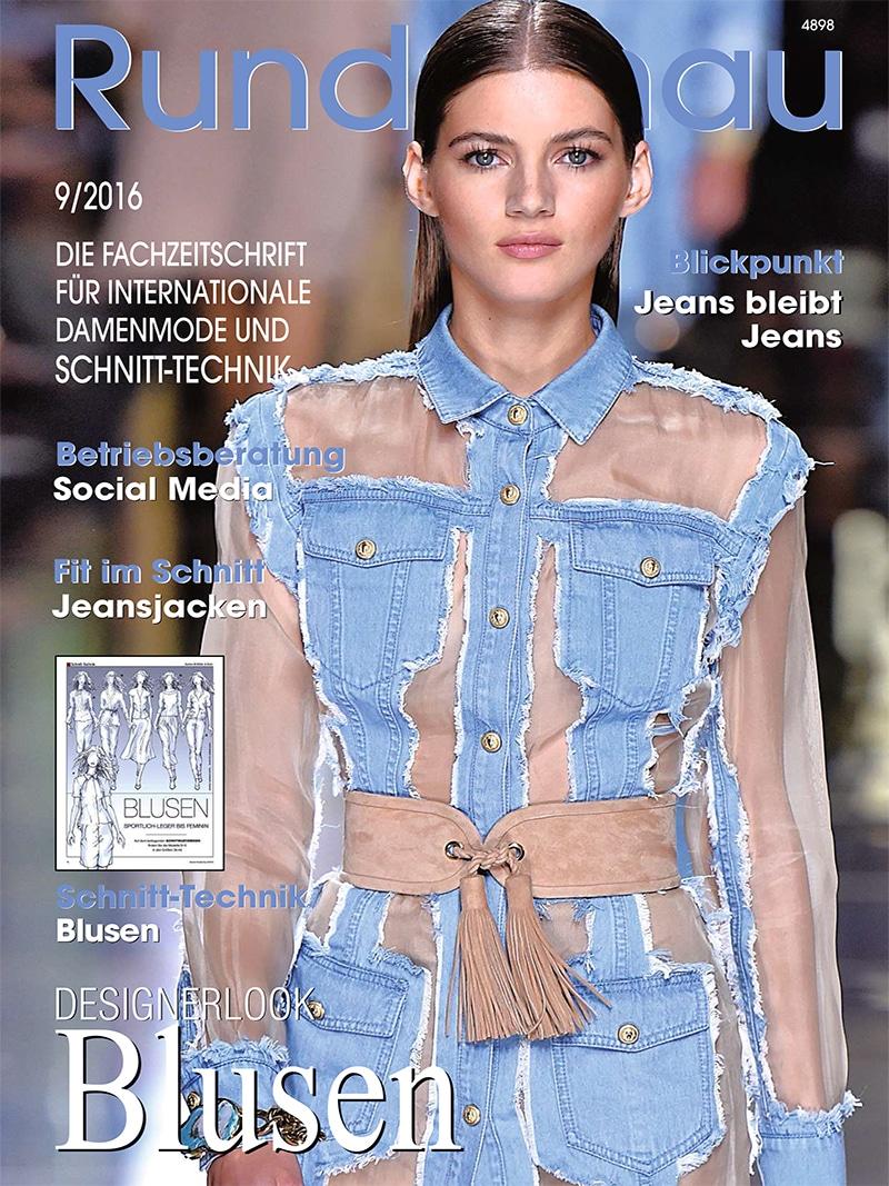 Produkt: Rundschau für Internationale Damenmode 9/2016 Digital