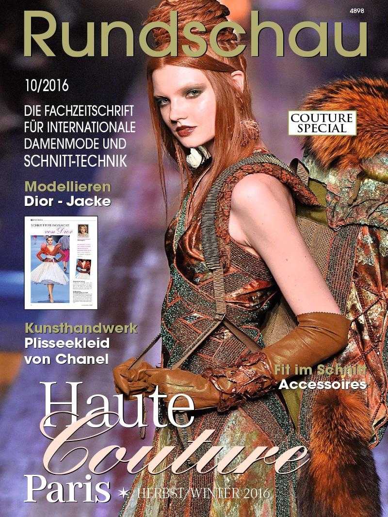 Produkt: Rundschau für Internationale Damenmode 10/2016