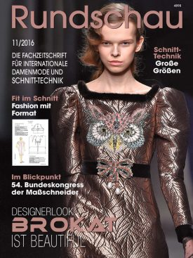 Produkt: PDF-Download: Rundschau für Internationale Damenmode 11/2016