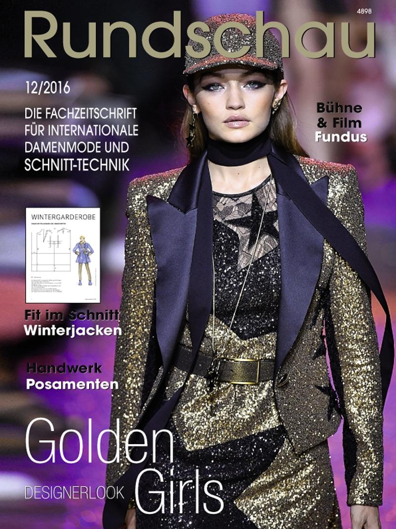 Produkt: Rundschau für Internationale Damenmode 12/2016 Digital