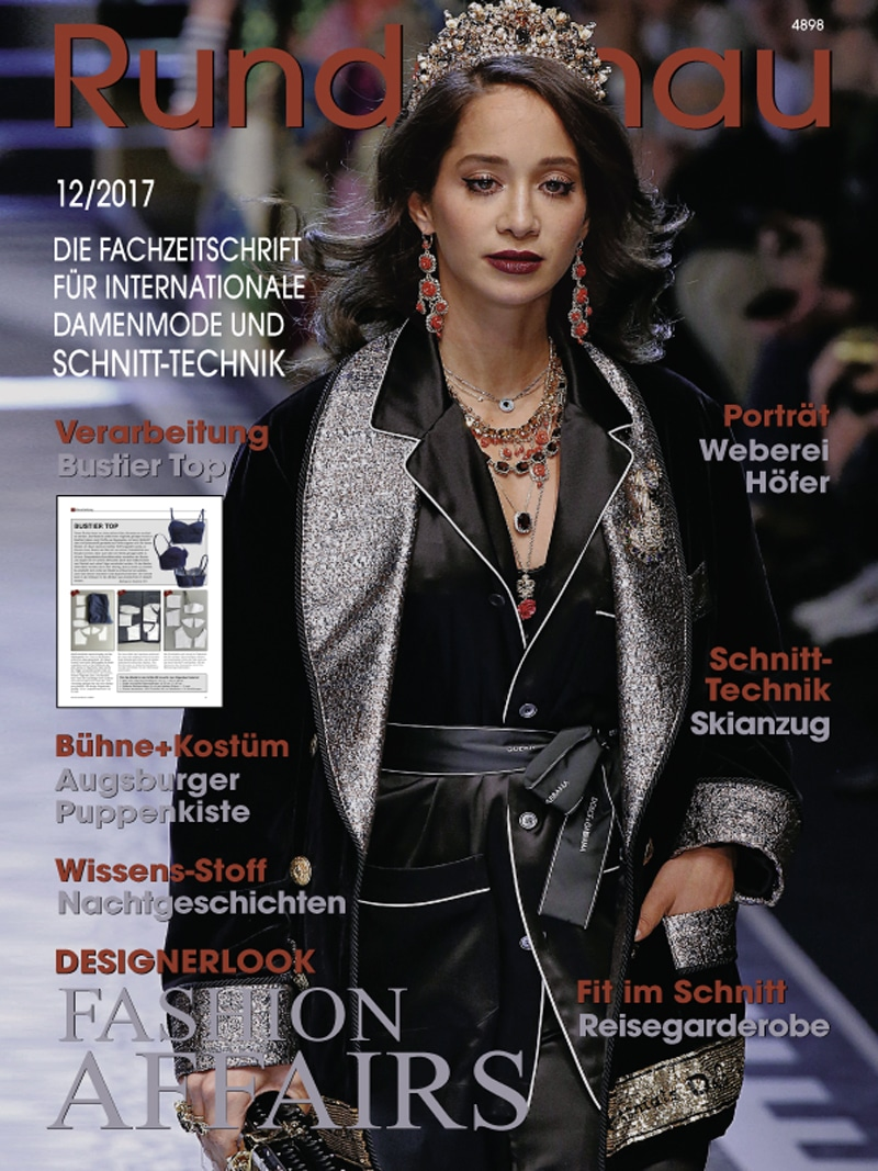 Produkt: Rundschau für Internationale Damenmode 12/2017