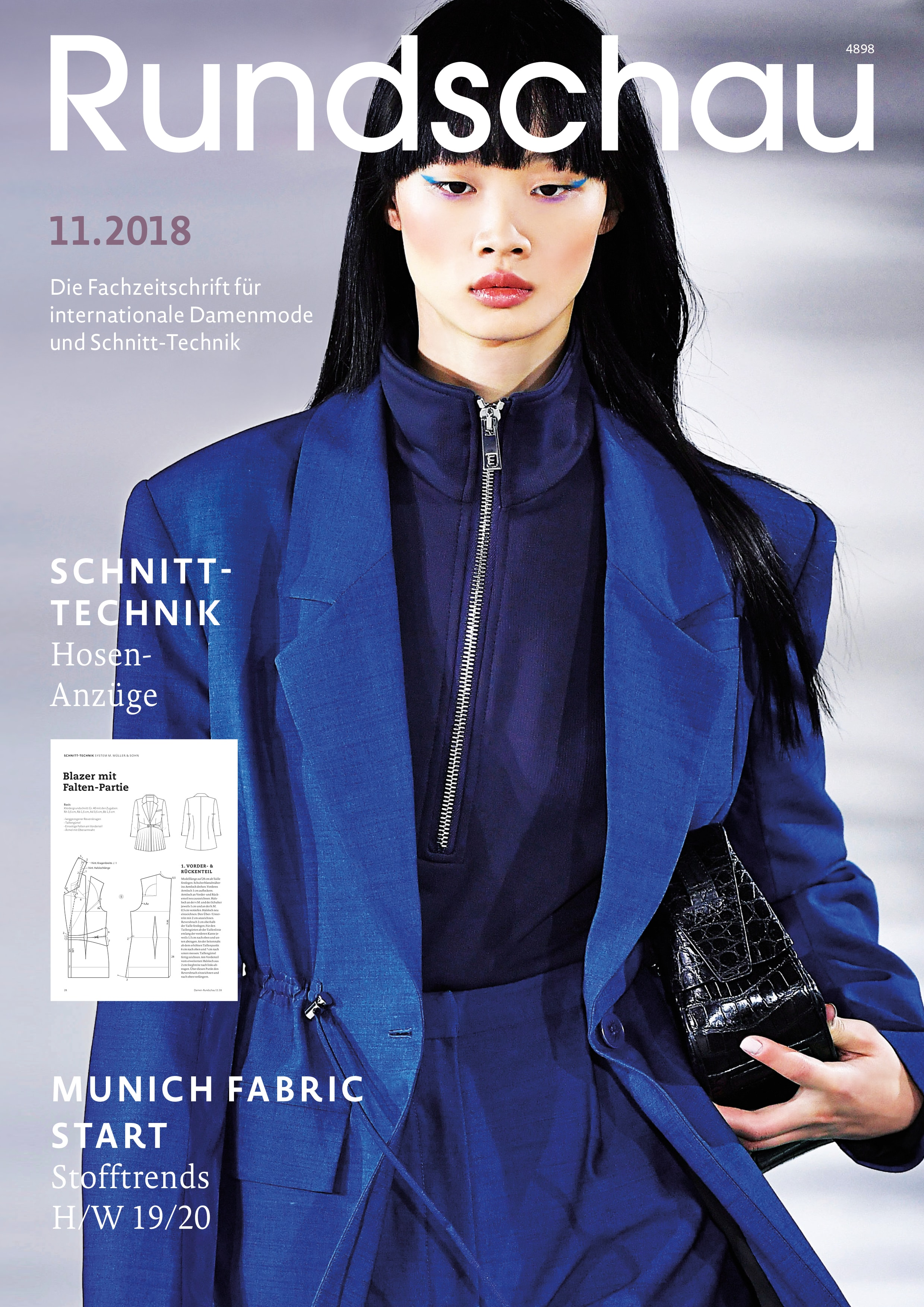 Produkt: Rundschau für Internationale Damenmode 11.2018