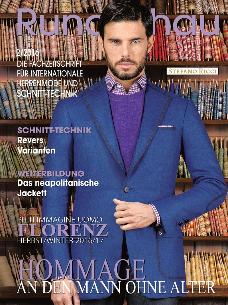 Produkt: Rundschau für Internationale Herrenmode 2/2016
