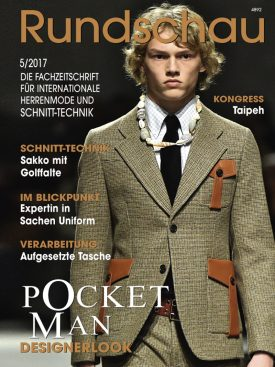 Produkt: PDF-Download: Rundschau für Internationale Herrenmode 5/2017