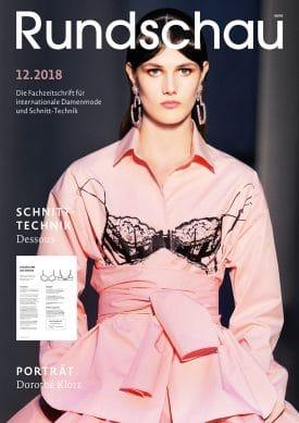Produkt: PDF-Download: Rundschau für Internationale Damenmode 12.2018
