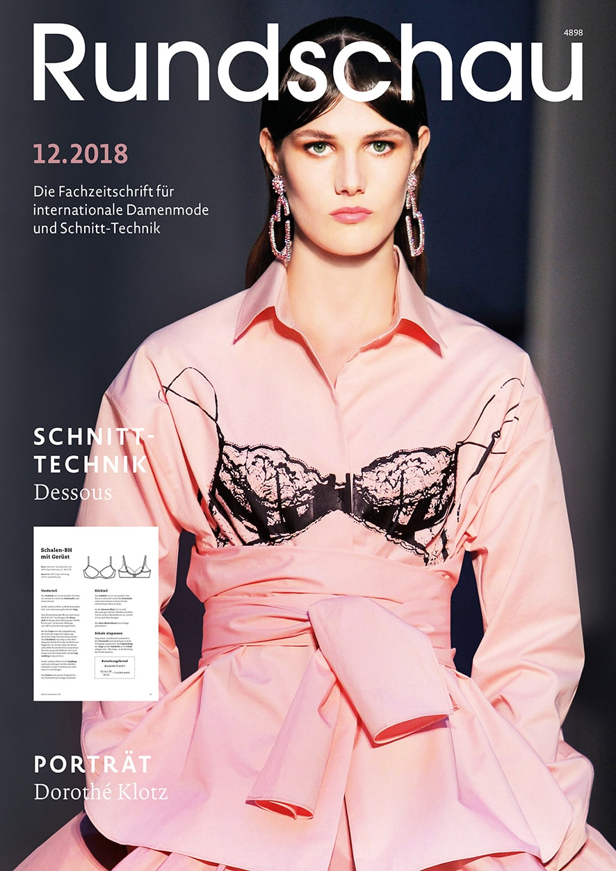 Produkt: Rundschau für Internationale Damenmode 12.2018