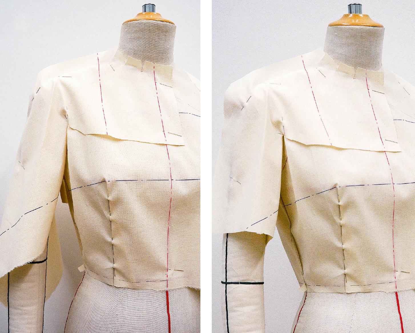 Kleid Drapage Tutorial Step 19-20